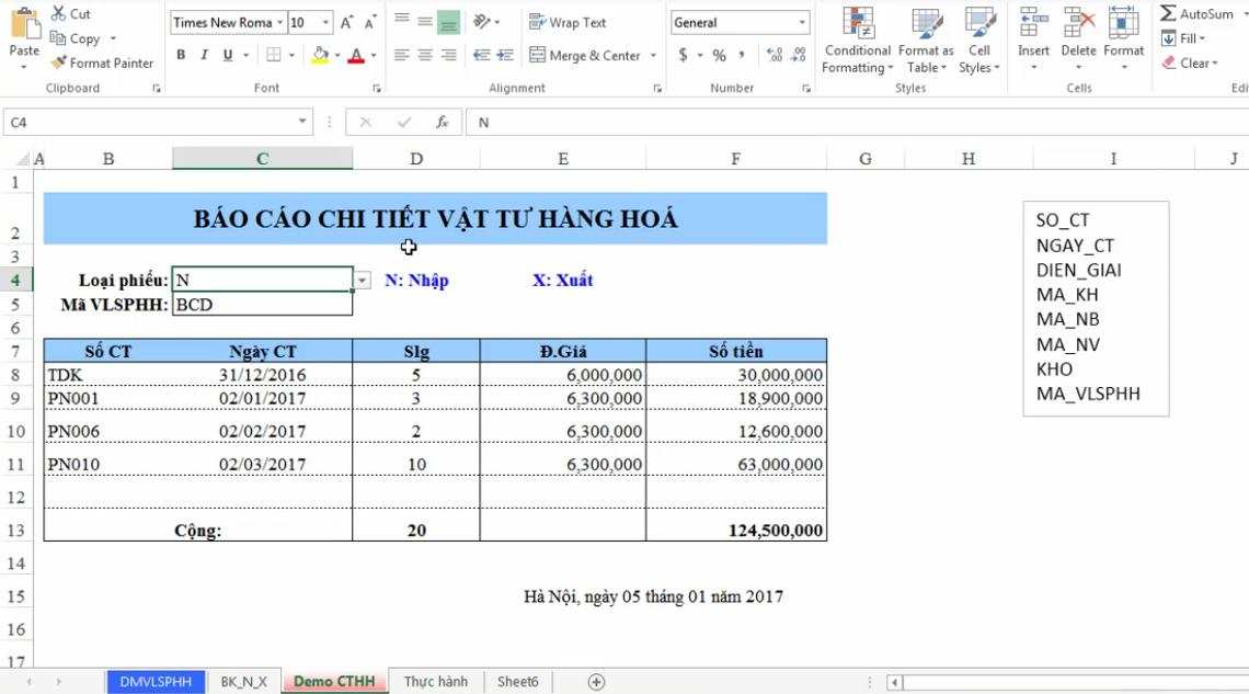 hướng dẫn tạo các báo cáo bằng công cụ SQL-BUILDER phần mềm Add-in ATools